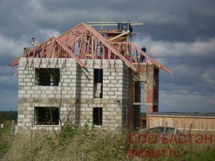 фото дома из пенобетона