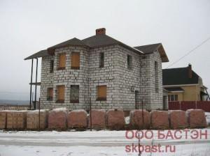 фотогалерея строительства газобетонного дома