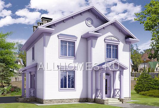 Проект: I-164-1P Проект  дома из пеноблоков