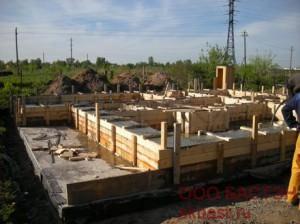 строительство коттеджа в Нижней Колонии(Стрельна)