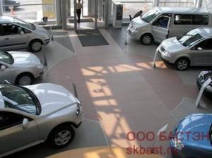 Автосалон на улице Руставелли