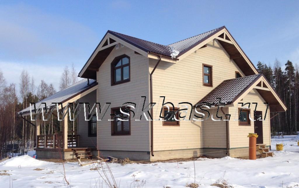 строительство дома по каркасной технологии