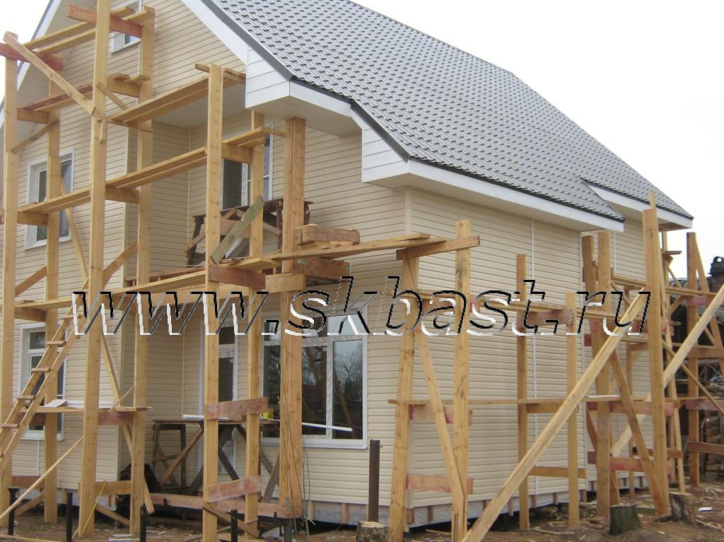 Строительство каркасного дома по проекту Хельсинки