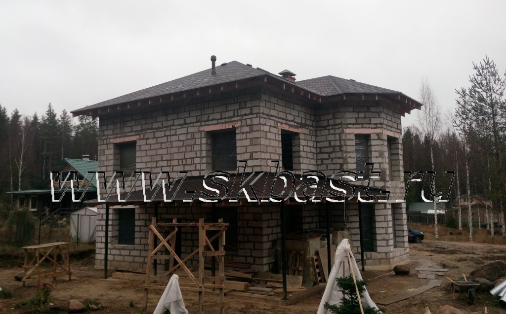 Строительство дома по проекта 57-11