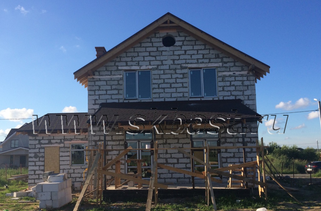 Дом по проекту к-185-1к