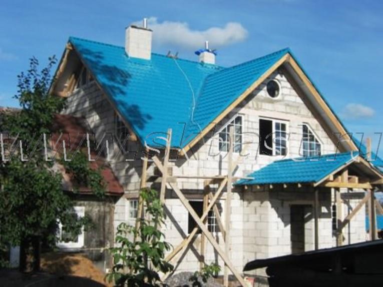 Строительство дома в Больших Горках