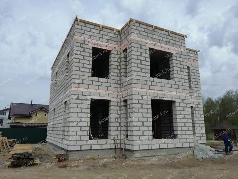 Завершен этап строительства второго этажа