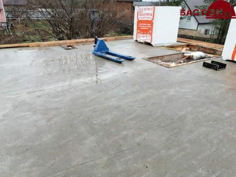 Монтаж межэтажного перекрытия